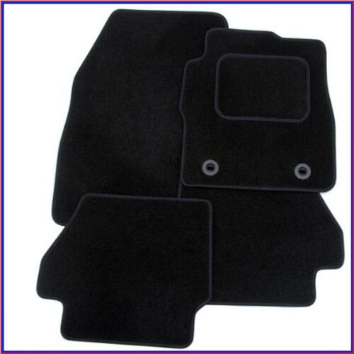 Citroen C4 2010-on Fully Tailored Deluxe Car Mats in Black. CLIPS