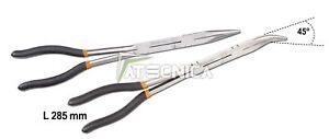 Set 2 pinze lunghe a becchi Beta Tools 1009L/DP con doppio snodo action