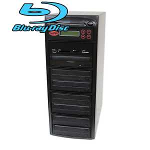 SySTOR 1-6 USB/SD/CF/MS Multi Media Memory Flash to CD DVD Blu-ray Duplicator