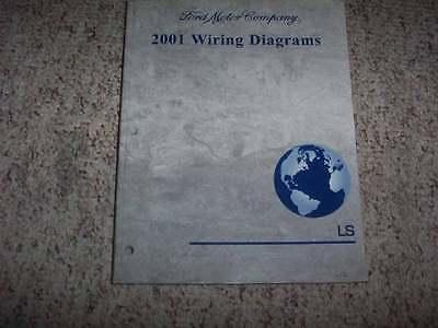 2001 Lincoln LS Electrical Wiring Diagram Manual 3.0L 3.9L ...