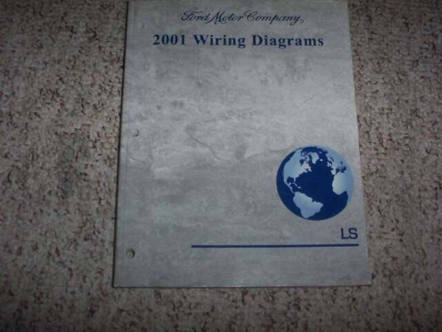 2001 Lincoln Ls Electrical Wiring Diagram Manual 3 0l 3 9l