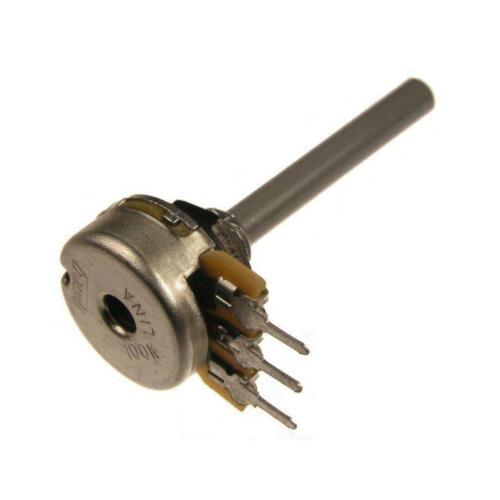 Potentiomètre 10 kohm mono Lin 4 mm Axe Omeg Poti pc16bu 10k 101315