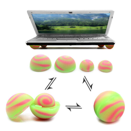 Portable skidproof silicone cooling stand cooler ball for laptop pc HU