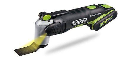 RK2863K Rockwell 27 Pc 20V Cordless Sonicrafter Oscillating Multi-Tool
