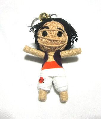 Aladdin  Voodoo String Doll Keychain Ornament Accessory (Handmade)