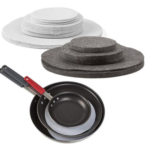 24PCS Set Homewares Felt Plate Separators Dividers Protectors Home ...
