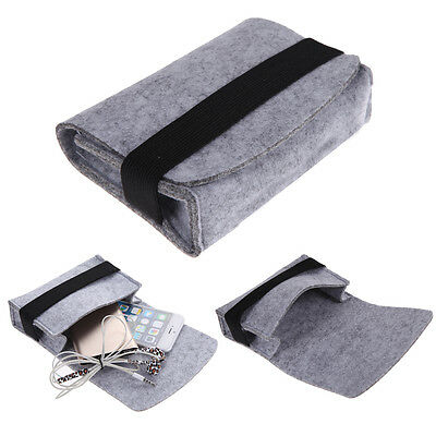 """2pcs Carry Case Cover Pouch Bag Holder for 2.5"""" HDD Hard Drive Disk Earphone Key"""