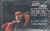 Star Trek Ccg : Q-continuum Booster Box - 3x Box Lot