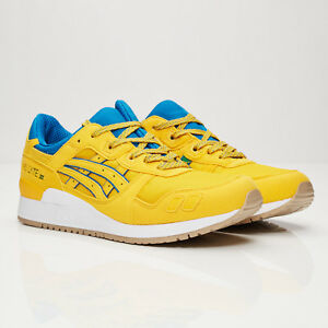 new product 26a28 bea9c Details about Asics Gel Lyte III 3 Tai Chi Yellow/Blue/Green UK 8