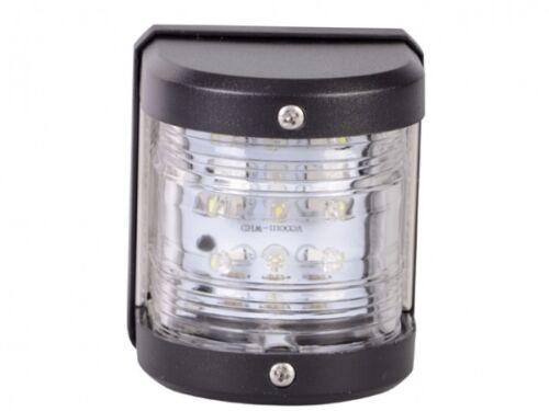 Illuminazione di navigazione segnale LED LAMPADA LANTERNA POSTERIORE 135 ° Chassis Nero