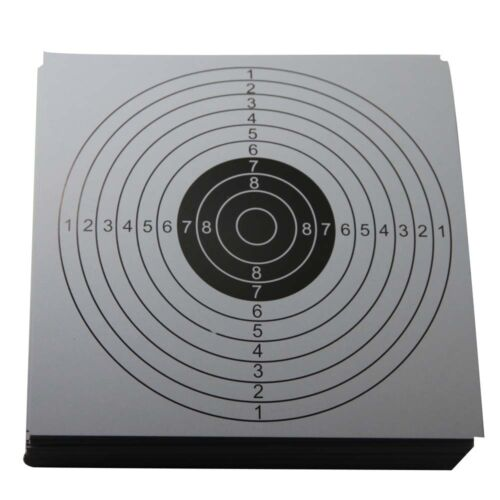 100x Shooting Targets Cardboard for BB Air Gun Practice Shooting Accessories