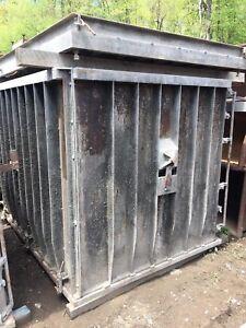 Details about Used Pre-Cast Concrete Inlet/Culvert/Septic Tank Vault Form  1200 Gallon