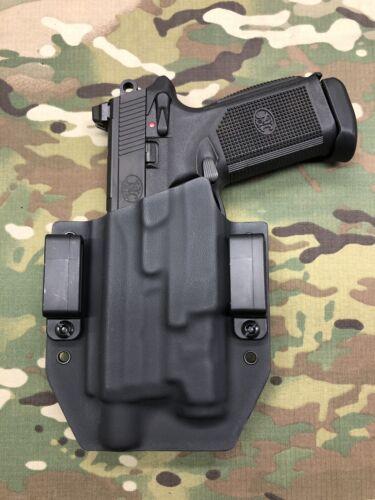 Black Kydex Holster for FNH FNX-45 Tactical Inforce APL Gen3 Only