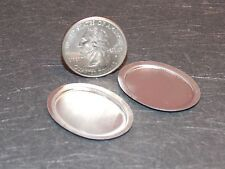 Dollhouse Miniature Silver Serving Tray Platter 1:12 scale Z47 Dollys Gallery