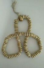 "Tibetan Buddhist Huge Conch Shell 108 Prayer Beads 26"" - Nepal"