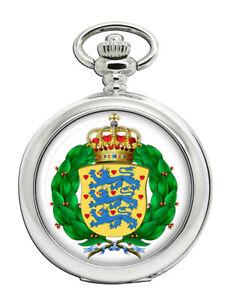Koenigliche-Daenische-Armee-Kongelige-Danske-Heren-Taschenuhr