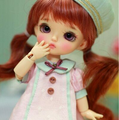 Bjd Muñeca Tiny Cute Recast Doll Free Shipping 1/8 Crystal Manga Anime Tiny