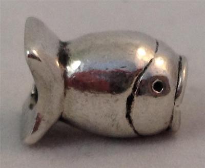 Genuine Rare Authentic Danish Pandora Fish Charm 790113