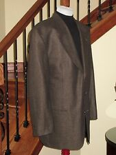 YVES SAINT LAURENT Silk Blend Birdseye 3 Btn Luxury Sport Coat Blazer 46L