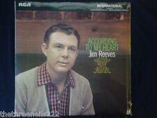 VINYL LP - ACCORDING TO MY HEART - JIM REEVES - INTS1013