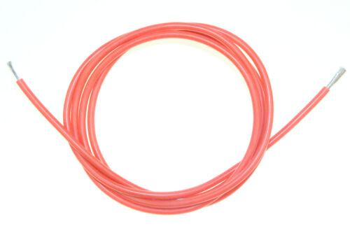 Silikonkabel 14 AWG Strom Kabe Leitung Rot Innen Ø 1,8mm Außen Ø 3,5mm Modellbau