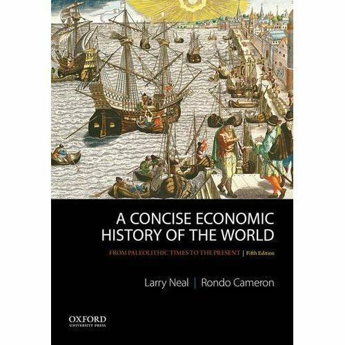 1 of 1 - A Concise Economic History Of The World: From Paleolithic Times To The Present