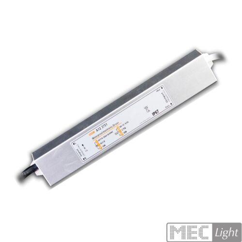 45W Led Trafo 12V IP67 Konstantspannung bis 3,75A an 230V//AC wasserdicht