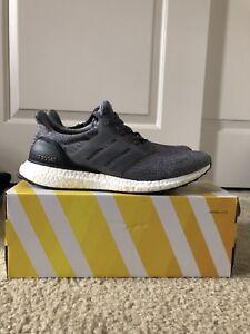 9ccf5f9c97f52 Men s Adidas Ultra Boost 3.0 Mystery Grey Size 10