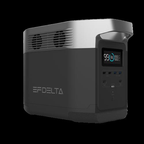 EcoFlow 1260Wh<br />Delta 1300 Solar Battery Travel Generator