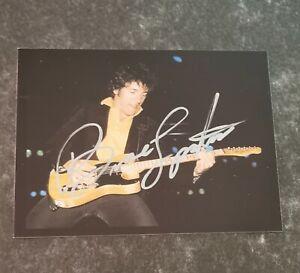 Bruce Springsteen Originalautogramm mit CoA!