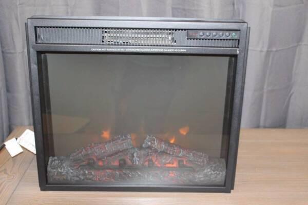 Stupendous Mcleland Design 23 Lux5 Electric Fireplace Insert Black Interior Design Ideas Inamawefileorg