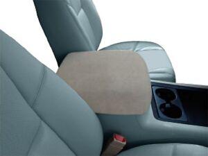 auto center console armrest covers foam insert incuded c1 tan ebay. Black Bedroom Furniture Sets. Home Design Ideas