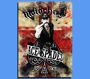 Box Canvas: Lemmy Motorhead Various Sizes Ready To Hang Grunge Art