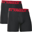"Under Armour Mens Original Boxerjock 2 Pack 6/"" Boxer Brief Size XL Black//Red NWB"