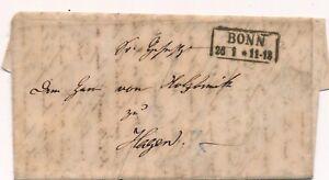 Lettre-BONN-pour-Hagen-Germany-Cover-Brief