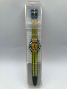 Limited-Edition-Swatch-GE231-Bold-Cat-2-2010-Swiss-Made-Unisex-Wristwatch-Watch
