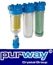 """HYDRA Rainmaster Trio RLH CB/EC 1"""" Hauswasserfilter Brunnenwasser Filter"""