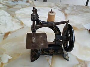Ancienne Machine À Coudre Muller N°10 - Toy Sewing Miniature