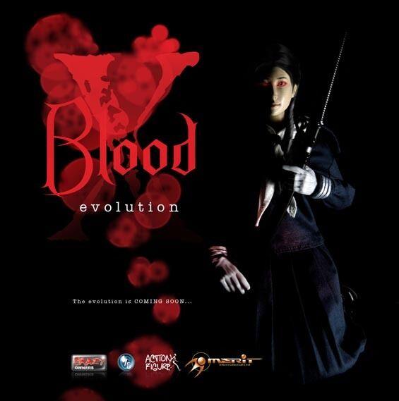 Crazy Owners sangre Evolution X 1 6 Figura De Acción