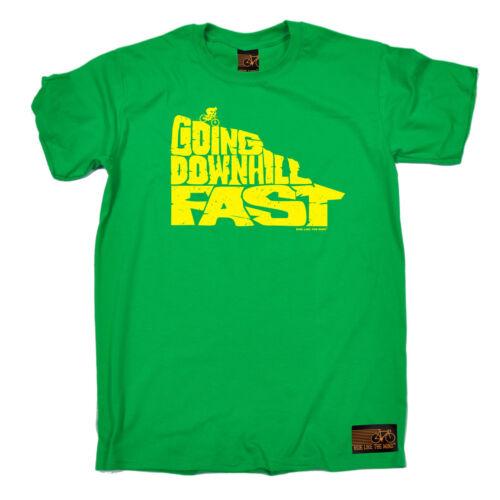 Going Downhill Fast Cyclisme Vélo T-shirt cyclisme cycliste Drôle Cadeau Anniversaire