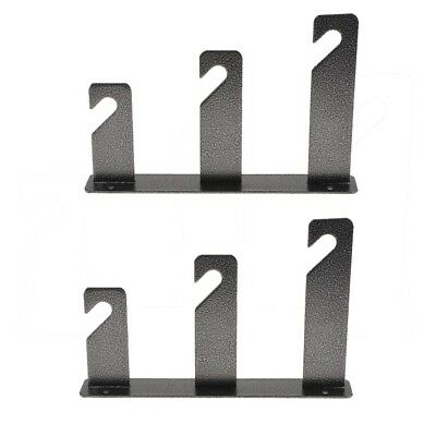 1 Pair One Roller Wall Mounting Manual Background Frame Support Bracket Hook