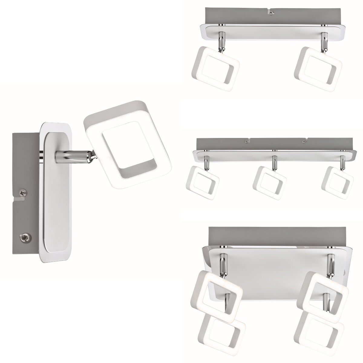 Paulmann Strahler Frame LED inkl. Leuchtmittel 4x4,5W