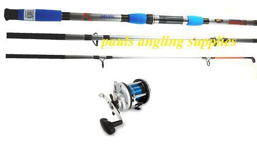 Lineaeffe 3 Piece Travel Boat Fishing Rod 7ft & JD Reel