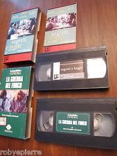 Lotto 2 VHS Segreti e bugie Mike Leigh La guerra del fuoco Jean Jacques Annaud