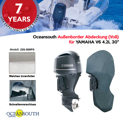 Motorabdeckung OCEANSOUTH ganzer Motor alle Aussenborder 2-4 Takt Schutzhülle