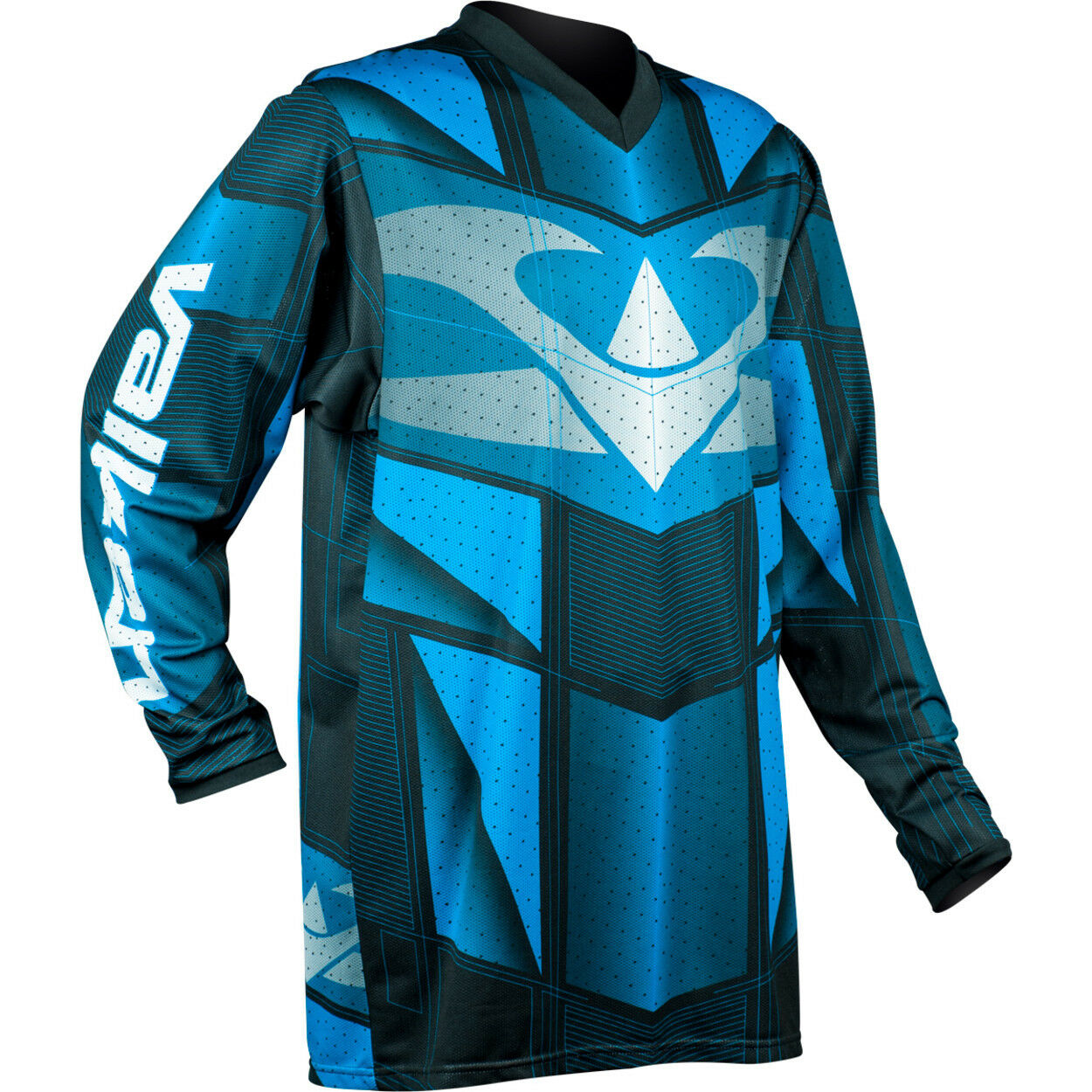 New Valken Paintball Airsoft VTac V-Tac EXO Playing Jersey - bluee - Large L