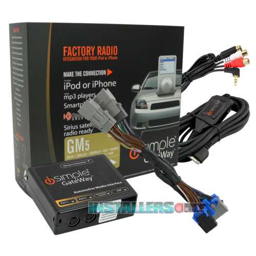 iSIMPLE GATEWAY GM FACTORY RADIO TO iPOD//iPHONE AUXILIARY INTERFACE ISGM575