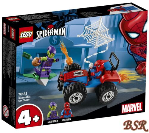 LEGO® Super Heroes 76133 Spider-Man Verfolgungsjagd /& NEU /& OVP !