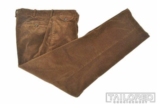 POLO RALPH LAUREN Solid Brown CORDUROY Cotton Mens