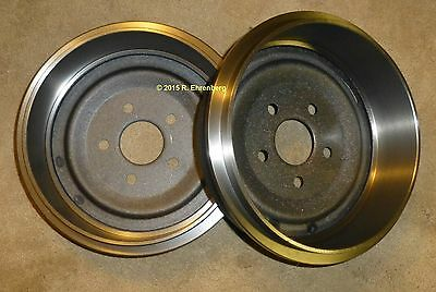 "Mopar OEM Brake Drums Dart 'Cuda Valiant 65-72 Plymouth Dodge V-8 Rear 10"" X 1¾"""